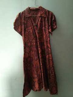 Dress Hamil Batik