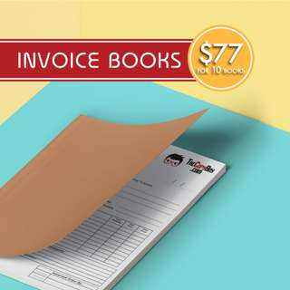 Invoice NCR Bill Books from $77
