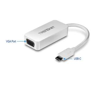Trendnet USB-C to VGA HDTV Adapter
