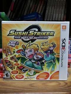 (Brand New) 3DS Sushi Striker The Way of Sushido / US