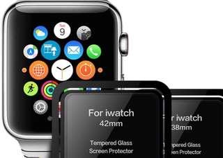 Apple Watch 全屏防爆玻璃mon貼 38mm/42mm