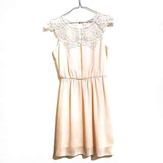 All Occasion Off White Dress