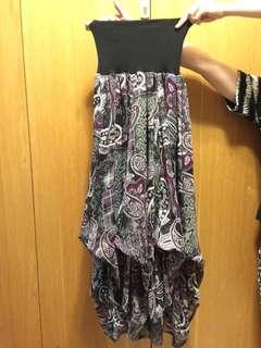 🚚 mana紫色長裙
