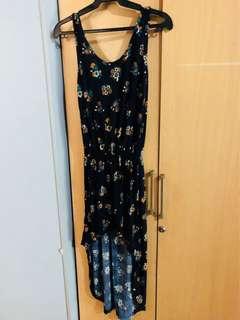 Cute dress long back