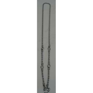 Thai Amulet Necklace (stainless steel), five hooks type