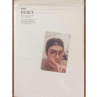 EXO Ex'act Lucky One 中文版連世勛小卡