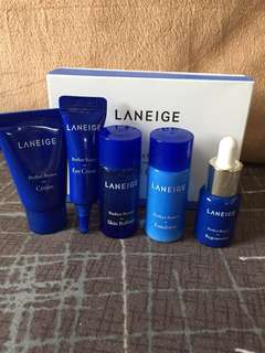 Free NM!! Laneige Perfect Renew Trial Kit 5 items