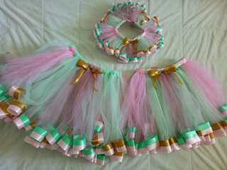 Tutu skirt for mom, ate & baby