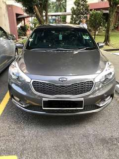 Kia 1.6 Cerato K3 2014 Warranty 1 year