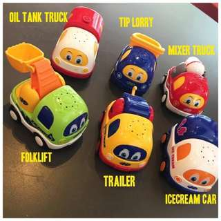 🚚 Toddler's Music Toy Car (with battery)