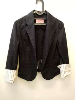 Uniqlo black blazer