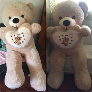 4+ feet teddy bear