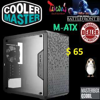 CoolerMaster Q300L m-ATX WINDOW MASTERBOX.
