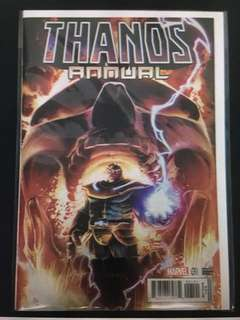 Thanos Annual 1 Marvel Comics Book Avengers Movie