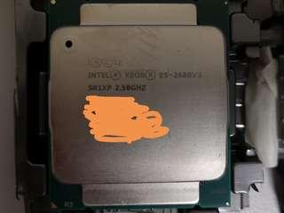 Intel E5 2680 V3