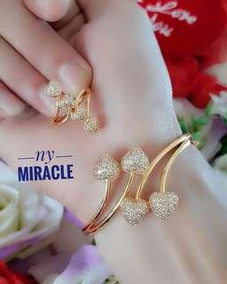 Gelang n cincin xuping cantik murah