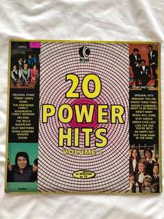 20 Power Hits - Volume 2 (Vinyl Record)