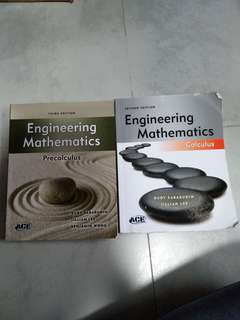 Temasek Polytechnic (TP) Engineering Maths (Eng Maths) books