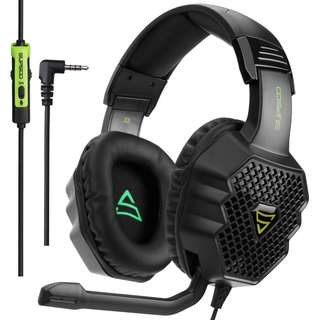 968. [2017 Supsoo G811 Multi-Platform New Xbox one PS4 Gaming Headset ]3.5 mm Wired Over Ear Gaming Headsets With Microphone ,Depp Bass , Noise Cancelling Headphones For PS4 New Xbox one PC Laptop Mac iPad