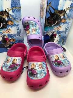 🚚 Disney Frozen 🥁🥁新款 防水💦布希鞋