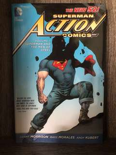 "Superman Action Comics Volume 1 ""Superman and The Men of Steel"" (The New 52)"
