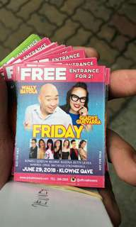 Ticket for Klownz Quezon Avenue!