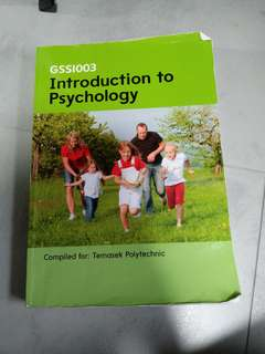 Temasek Polytechnic (TP) Introduction to Psychology Textbook