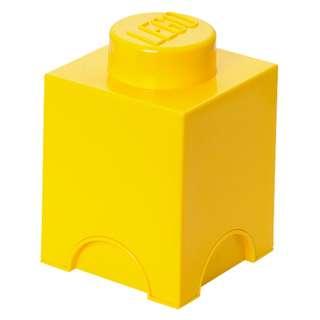 LEGO 1 Stud Storage Brick - YELLOW (LS-40011732)