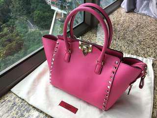 Valentino Garavani Rockstud Double Handle Bag
