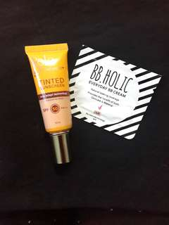 Belo Tinted Sunscreen + BB Holic (Fair)