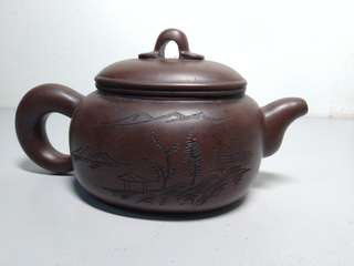 Chinese old tea pot