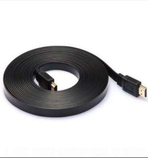 🚚 Lowest price HDMI Cable flat 5m v1.4