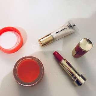 Mecca Lip products