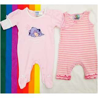 Branded Onesies - 3 Months - Set of 2