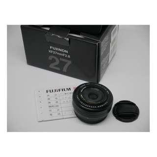 Fujifilm XF 27mm F2.8 盒單齊全 公司貨