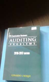 CPA Exam Reviewer in Auditing Problems 2016-2017 Ed by Gerardo Roque