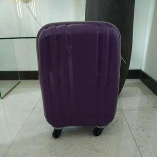 Purple Cabin Bag