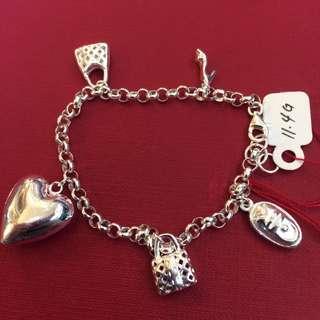 Bracelet tiffany design silver 92.5