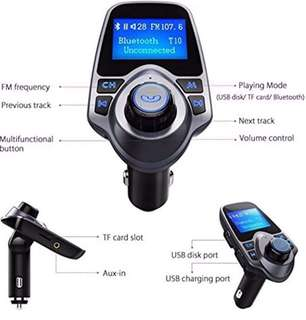 T11 car Bluetooth fm transmitter