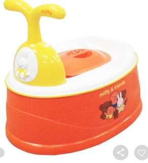 Brand new in box Miffy Potty