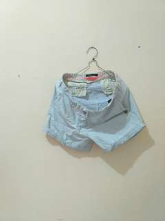 Hot pants baby blue