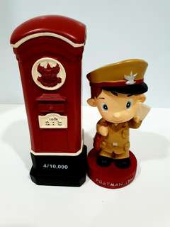 1950💥Thailand Postman & Post box