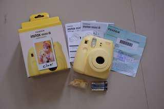 Fujifilm Instax Mini 8 Yellow Polariod Baru