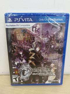 (Brand New) PS Vita Psychedelica of the Ashen Hawk / R1