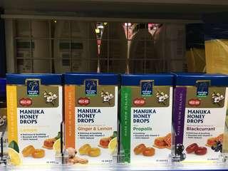 紐西蘭Manuka蜂蜜潤喉糖