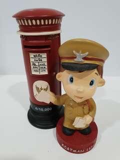 1974💥Thailand Postman & Post box