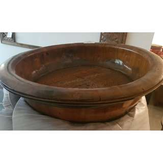Vintage Carved Tub(No 64#)