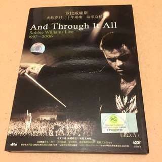 Robbie Williams Live. And Through It All 1997-2006 DVD