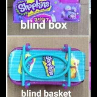 BRANDNEW SHOPKINS Blind Box/ Blind Basket / Pink Bag