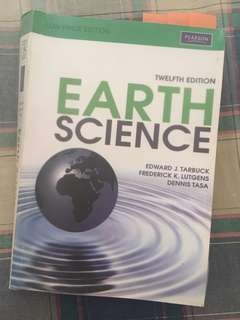 Earth Science 12th Ed